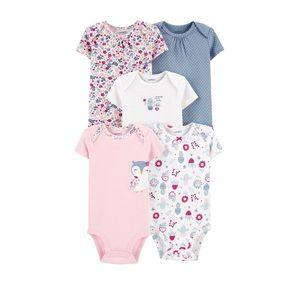 Bundle of Newborn Cute Bodysuits